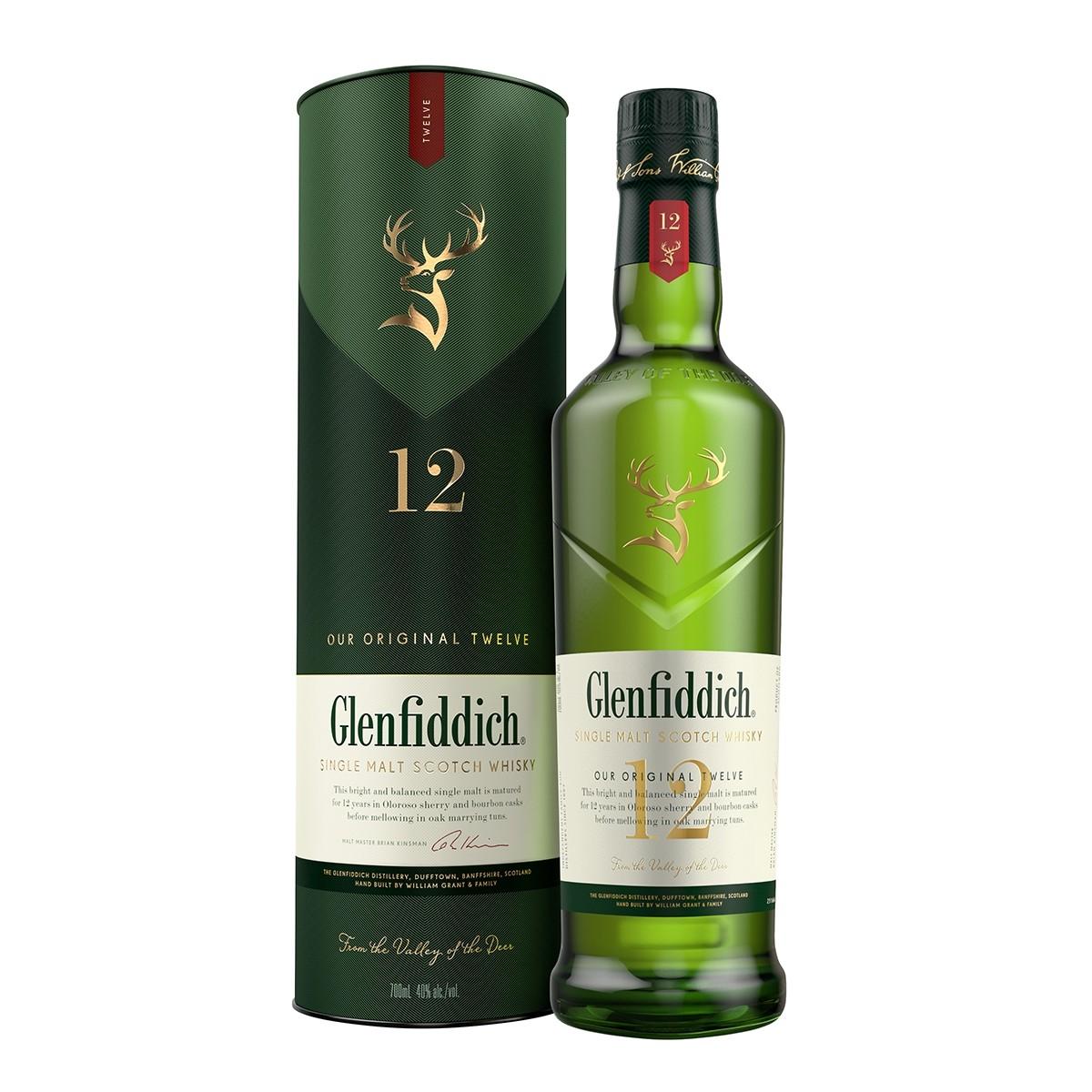 Glenfiddich 12 Ani 700 ml