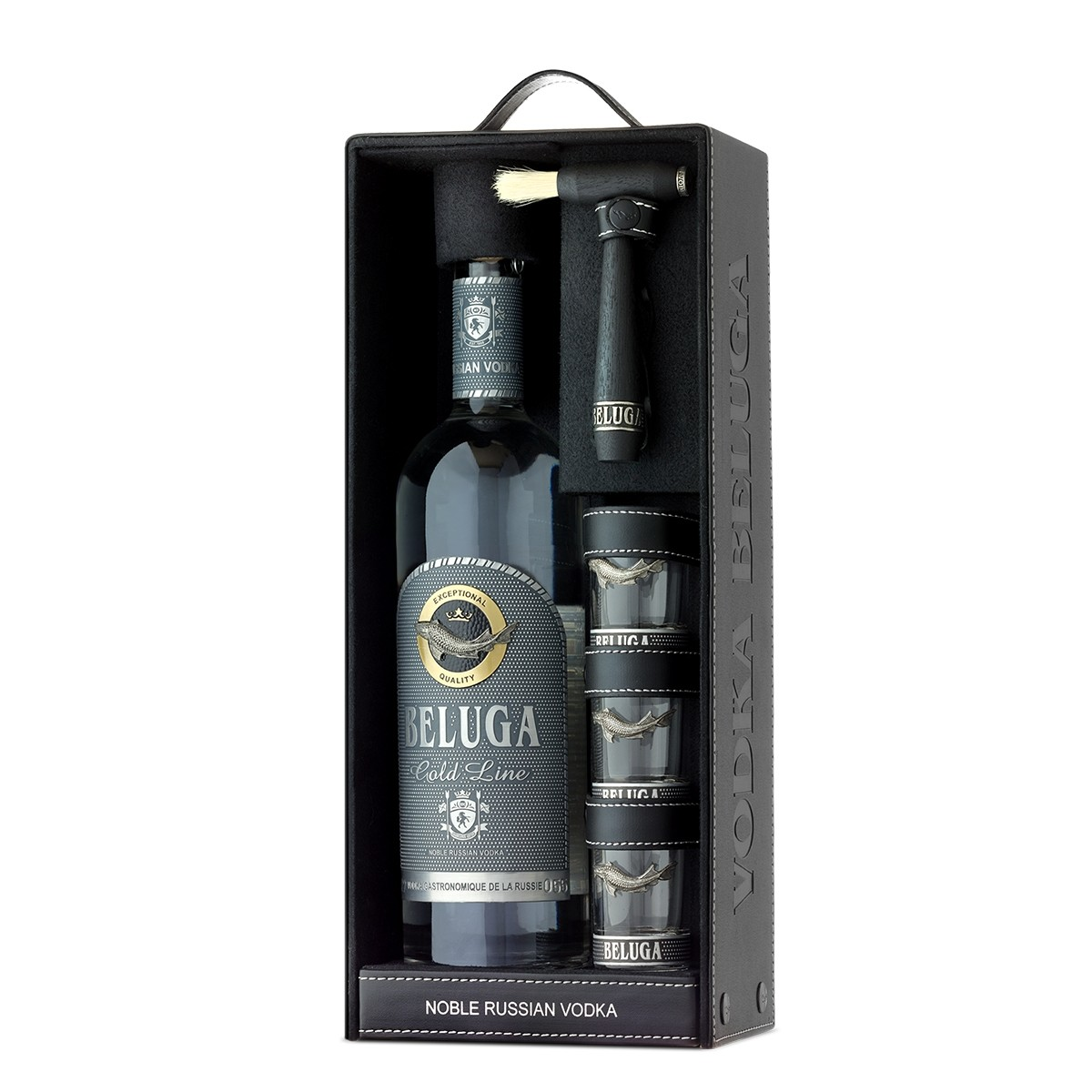 Beluga Gold Line 700 ml + 3 shots