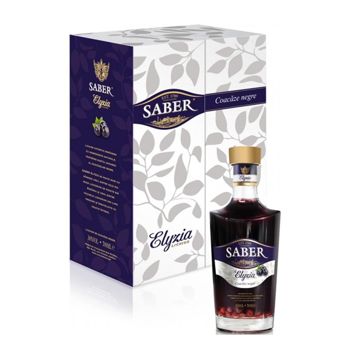 Saber Elyzia Premium Coacaze Negre 700 ml