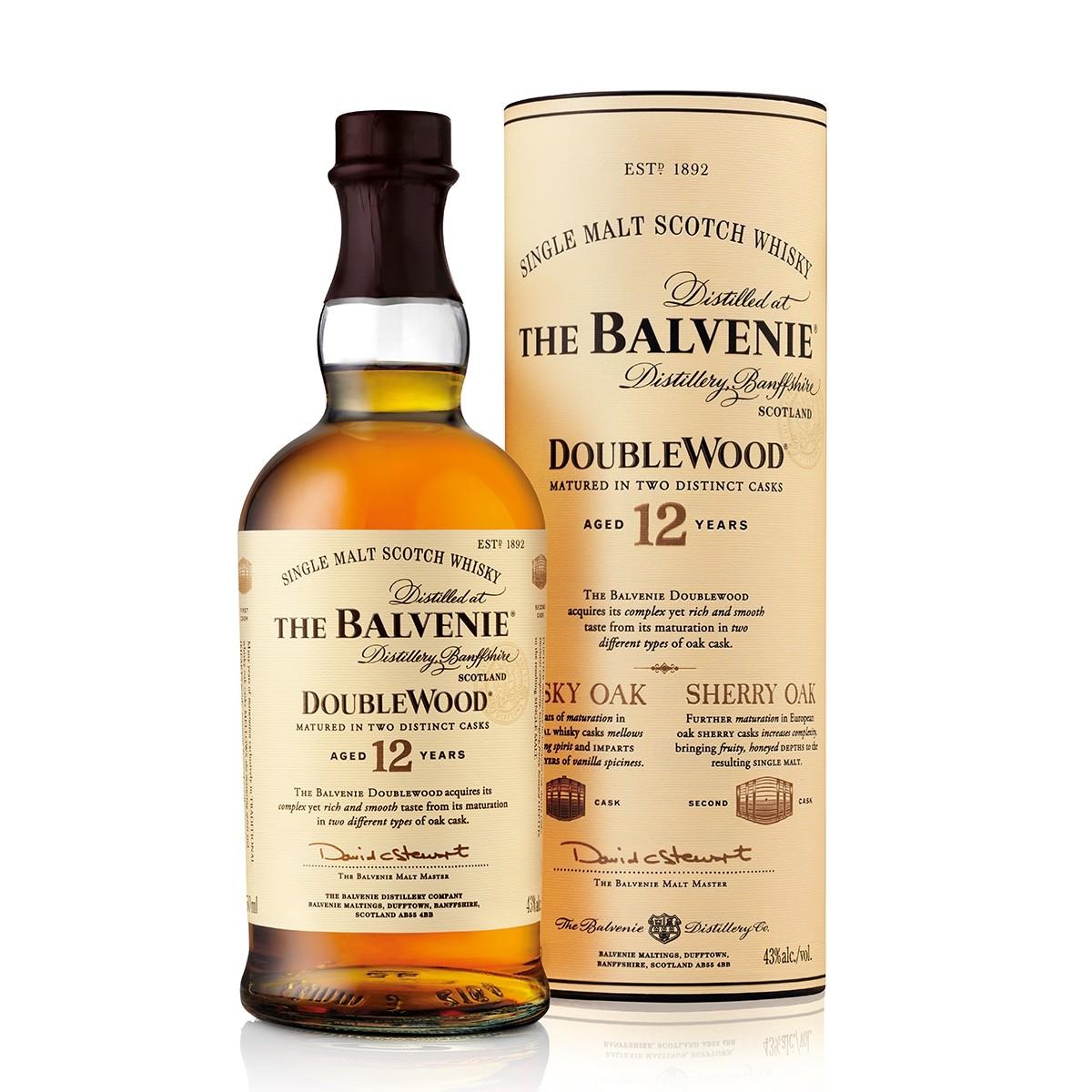 Balvenie 12 Ani DoubleWood 700 ml