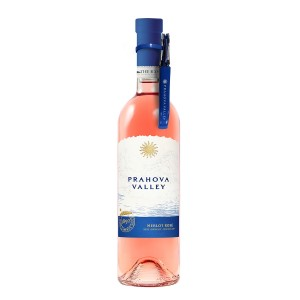 Prahova Valley Merlot Rose + tirbuson