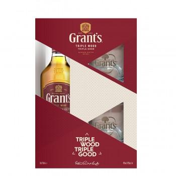 Grant`s 700 ml + 2 Pahare