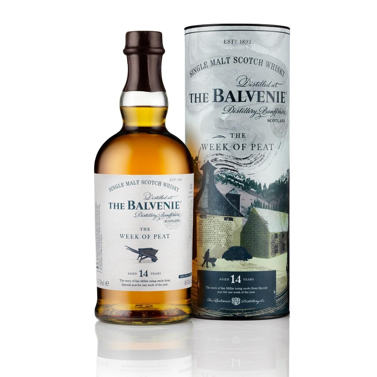 Balvenie 14 YO Weak Of Peat 700 ml